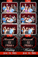 Kenneth and Hilda's Wedding