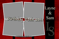 Layne and Sam Birthday Bash 2011