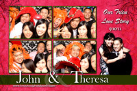 John and Theresa wedding