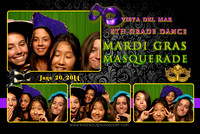 Vista Del Mar 8th Grade Masquerade Ball